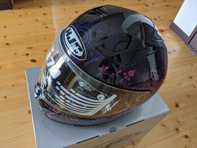 HJCヘルメットのレビュー